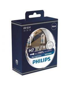 Phillips H7 Racing Vision +150% Globe Set
