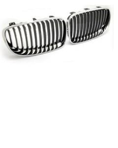 BMW 1 Series E87 Grille +CP/FRM  SET  P3 2007-10