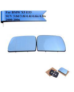 Bmw X5 Door Mirror Glass PAIR E53 2000-2006