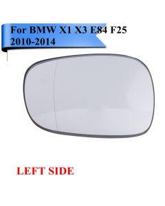 Bmw X1 Door Mirror Glass LEFT Side 2010-2014 (Also Fits X3)