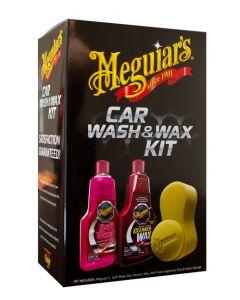 Meguiars Car Wash & Wax Kit 4pce