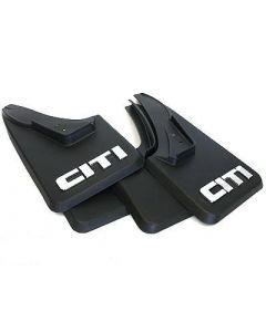 Golf 1 MudFlap Set (White Citi) (Set of 4)