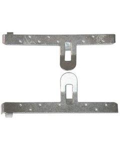 Golf 1,2,3/Fox/Caddy Brake Pad Clip Kit - 2xL&R